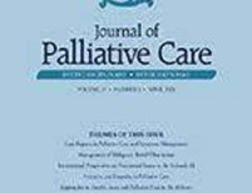 Music Therapy Interventions in Palliative Care: A Systematic Review